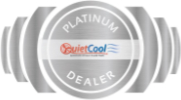Quiet Cool Platinum Dealer Badge